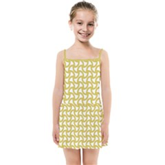 Odd Shaped Grid  Kids  Summer Sun Dress by TimelessFashion