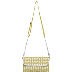 Odd Shaped Grid  Mini Crossbody Handbag by TimelessFashion
