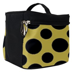 Polka Dots Large  Make Up Travel Bag (small) by TimelessFashion