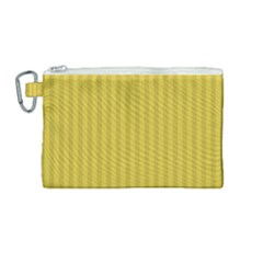 Simple Stripes  Canvas Cosmetic Bag (medium)