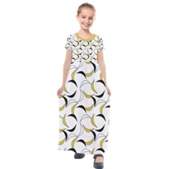 Simply Retro  Kids  Short Sleeve Maxi Dress by TimelessFashion