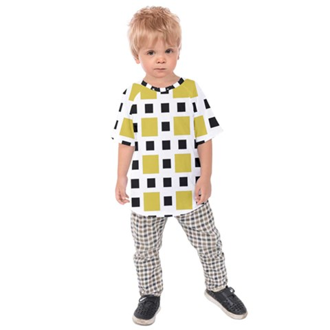 Squares On A Mission Kids  Raglan Tee by TimelessFashion
