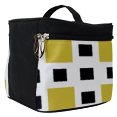 Squares On A Mission Make Up Travel Bag (small) by TimelessFashion