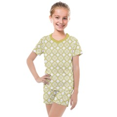 The Web  Kids  Mesh Tee And Shorts Set by TimelessFashion
