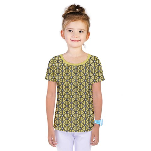 Triangle Party  Kids  One Piece Tee by TimelessFashion