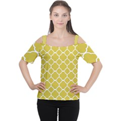 Vintage Tile  Cutout Shoulder Tee