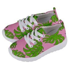 Leaves Tropical Plant Green Garden Kids  Lightweight Sports Shoes by Alisyart