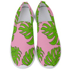 Leaves Tropical Plant Green Garden Men s Slip On Sneakers by Alisyart