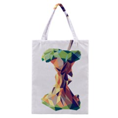 Illustrator Geometric Apple Classic Tote Bag