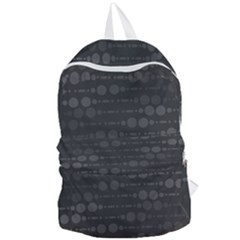 Background Polka Dots Foldable Lightweight Backpack by Mariart