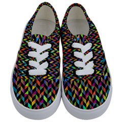 Abstract Geometric Kids  Classic Low Top Sneakers