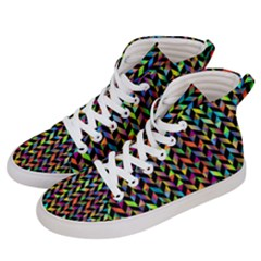 Abstract Geometric Women s Hi Top Skate Sneakers by Mariart