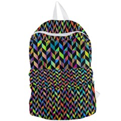 Abstract Geometric Foldable Lightweight Backpack