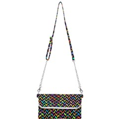 Abstract Geometric Mini Crossbody Handbag by Mariart