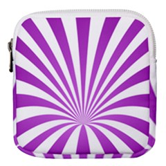 Background Whirl Wallpaper Mini Square Pouch by Mariart