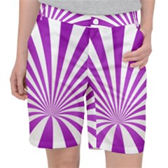 Background Whirl Wallpaper Pocket Shorts