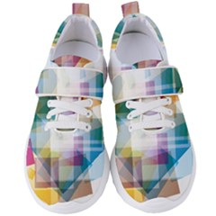 Abstract Background Women s Velcro Strap Shoes by Mariart