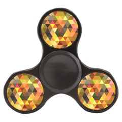 Abstract Geometric Triangles Shapes Finger Spinner by Mariart