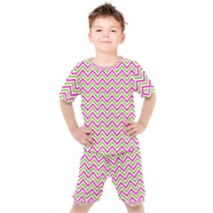 Abstract Chevron Kid s Set by Mariart