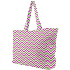 Abstract Chevron Simple Shoulder Bag