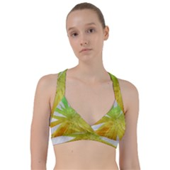 Abstract Background Tremble Render Sweetheart Sports Bra