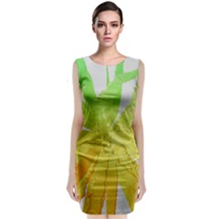 Abstract Background Tremble Render Classic Sleeveless Midi Dress