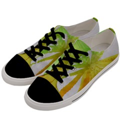 Abstract Background Tremble Render Men s Low Top Canvas Sneakers by Mariart