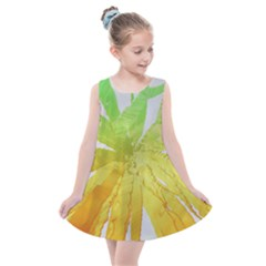 Abstract Background Tremble Render Kids  Summer Dress by Mariart