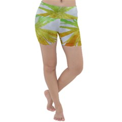 Abstract Background Tremble Render Lightweight Velour Yoga Shorts
