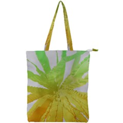 Abstract Background Tremble Render Double Zip Up Tote Bag