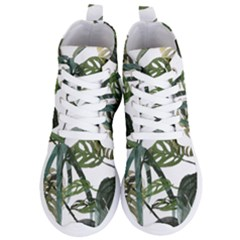 Botanical Illustration Palm Leaf Women s Lightweight High Top Sneakers by Mariart