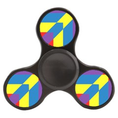 Colorful Red Yellow Blue Purple Finger Spinner by Mariart