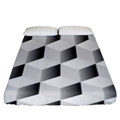 Cube Isometric Fitted Sheet (queen Size)