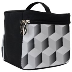 Cube Isometric Make Up Travel Bag (big) by Mariart