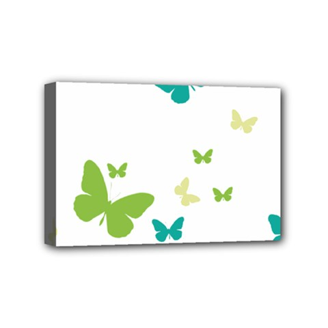 Butterfly Mini Canvas 6  X 4  (stretched)