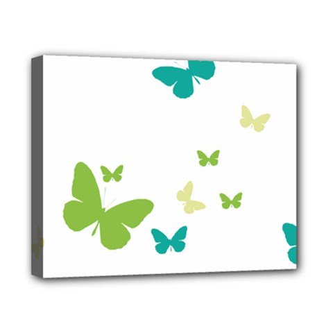 Butterfly Canvas 10  X 8  (stretched) by Mariart