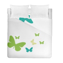Butterfly Duvet Cover Double Side (full/ Double Size)