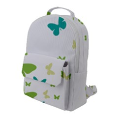 Butterfly Flap Pocket Backpack (large) by Mariart