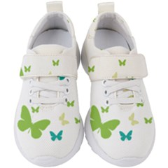Butterfly Kids  Velcro Strap Shoes by Mariart
