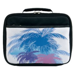 Coconut Tree Background Lunch Bag