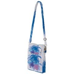 Coconut Tree Background Multi Function Travel Bag