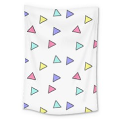 Color Triangle Wallpaper Large Tapestry