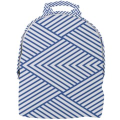 Directional Lines Stripes Movement Mini Full Print Backpack