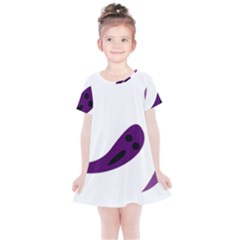 Ghost Halloween Kids  Simple Cotton Dress