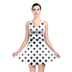 Garden Halftone Paving Reversible Skater Dress