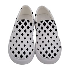 Garden Halftone Paving Women s Canvas Slip Ons