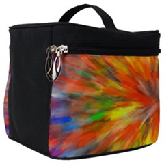 Color Background Structure Lines Space Make Up Travel Bag (big) by Jojostore