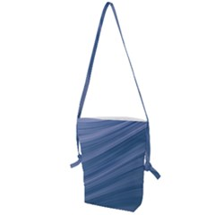 Background Course Abstract Folding Shoulder Bag