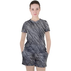 Background Texture Grunge Women s Tee And Shorts Set by Jojostore
