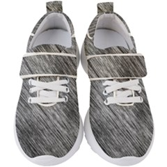 Background Texture Grunge Kids  Velcro Strap Shoes